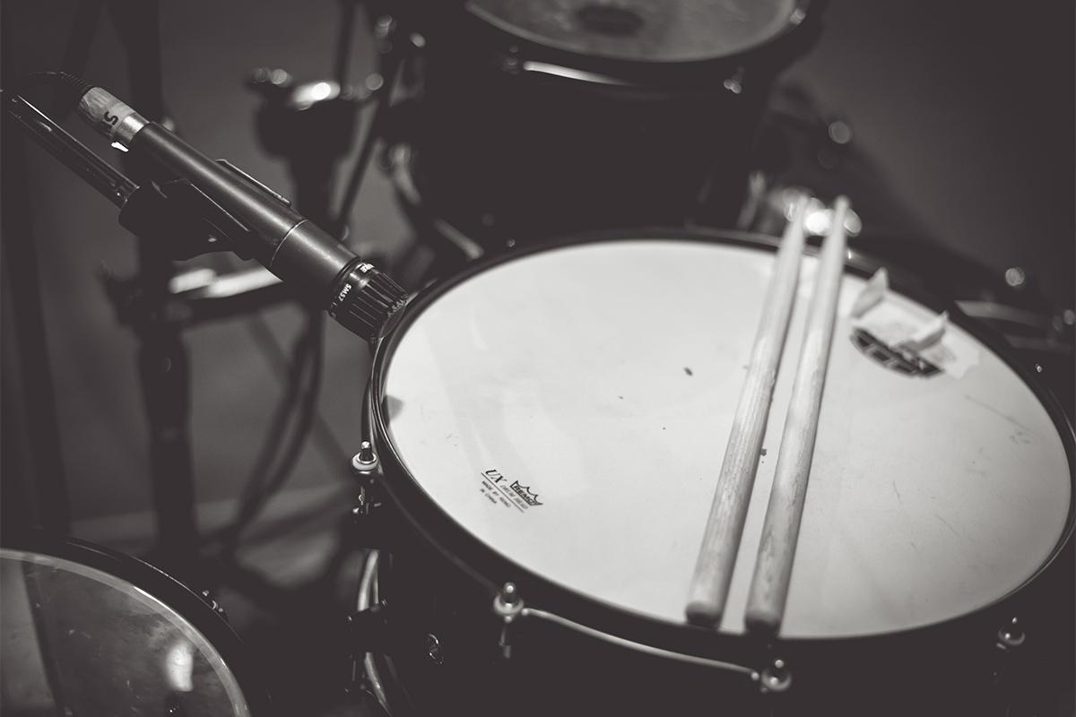 Sala ripresa 2 - Box Drums