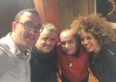 M'Barka Ben Taleb, Tony Cercola, Gennaro Franco, Aniello Misto
