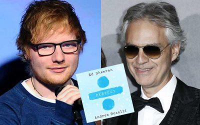 Perfect Symphony: il duetto di Sheeran e Bocelli