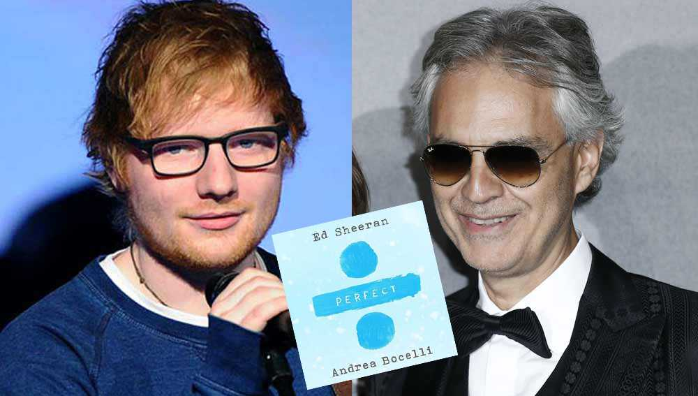 Perfect Symphony: il duetto di Sheeran e Bocelli