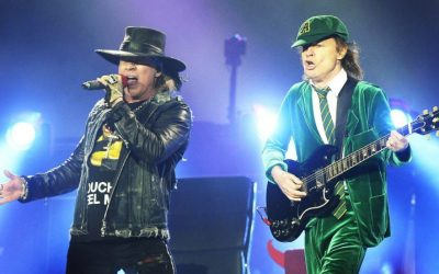 Angus Young e Axl Rose: un nuovo album per gli AC/DC